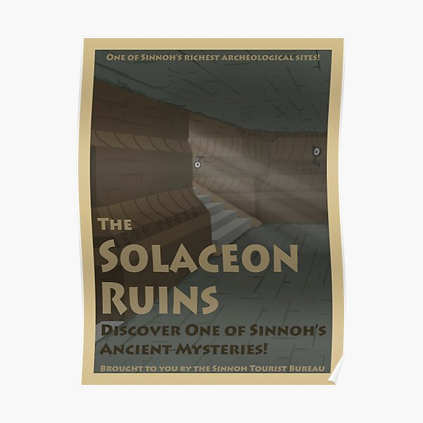 Solaceon Ruins Poster Poster