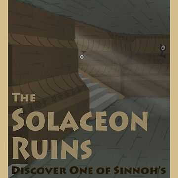 Solaceon Ruins Poster by Swainathan