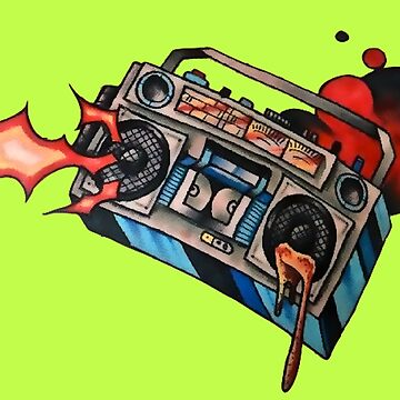 Sound From A Ghetto Blaster by VictorIos