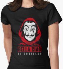 EL PROFESOR Women's Fitted T-Shirt