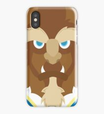 Beast, Beauty and the Beast iPhone Case
