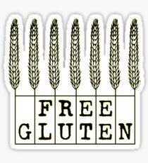 Free Gluten Sticker
