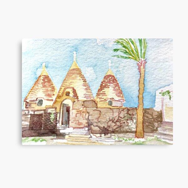 Puglia Canvas Print