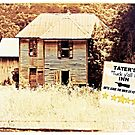 "TATER'S, ""TUCK Y'ALL IN, INN... WE'LL LEAVE THE WICK LIT FOR YA"", Photo, for greeting cards and postcards by Bob Hall©"