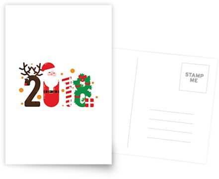 2018 Reindeer Santa Candy Cane Wreath by Muggalicious