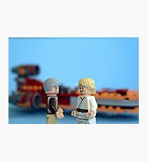 Old Ben and Luke Photographic Print