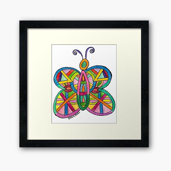A Butterfly for Lisa Framed Art Print