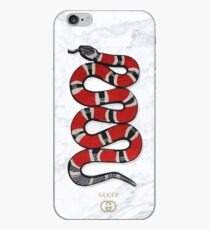snake in marble iPhone Case
