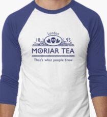 MoriarTea 2 Blue Ed. Men's Baseball ¾ T-Shirt