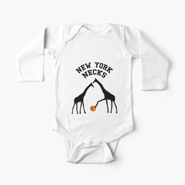 New York Necks Long Sleeve Baby One-Piece