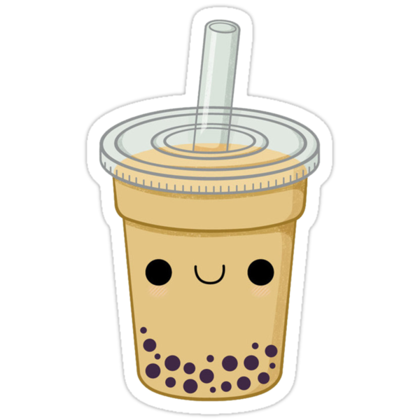 Quot Cute Bubble Tea Quot Stickers By Daanrekers Redbubble