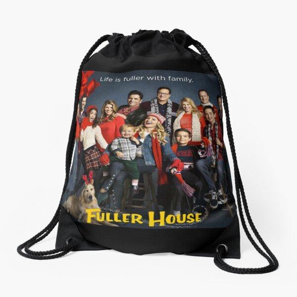 Fuller House Cast - Christmas Holidays Drawstring Bag
