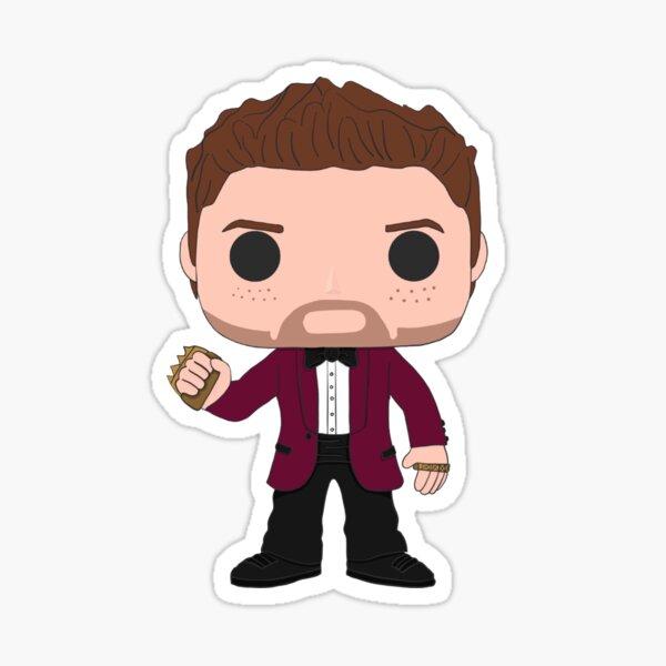 Halloween Jensen Ackles Sticker
