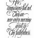 Calligraphy 2, © DaySpring cards by luvapples downunder/ Norval Arbogast