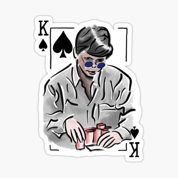 Stu Ungar Poker Sticker