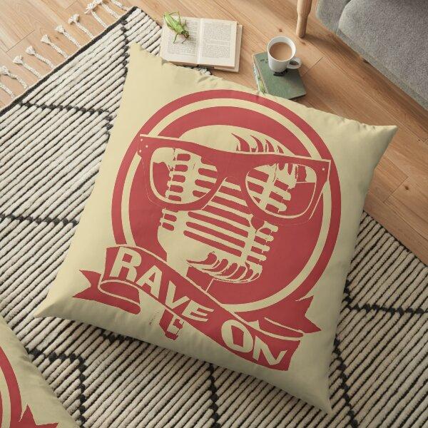 Rockabilly Floor Pillow