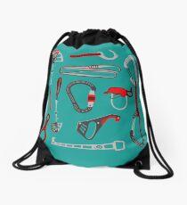 Climbing Equipment Design Drawstring Bag