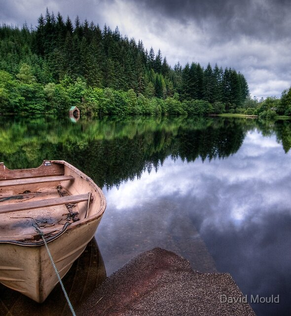Loch Ard view by David Mould