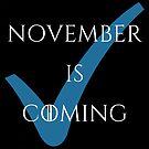 Der November kommt von avdreaderart