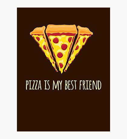 Diamond Pizza Photographic Print