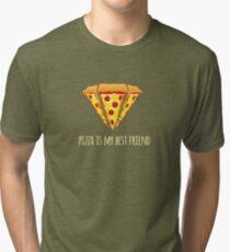 Diamond Pizza Tri-blend T-Shirt