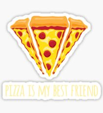 Diamond Pizza Sticker
