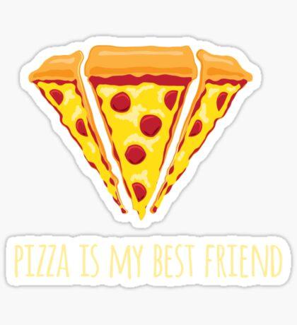 Diamond Pizza Sticker