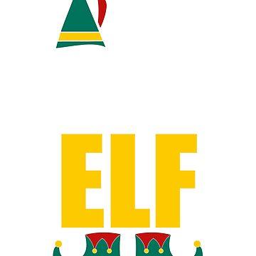 World's Tallest Elf Funny Christmas Xmas Gift T-Shirt by unlockedhtk