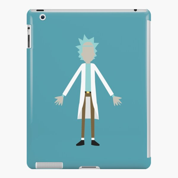 Minimalistic  Rick |Rick And Morty  iPad Snap Case