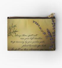 Lavender, Rosemary, Love Studio Pouch