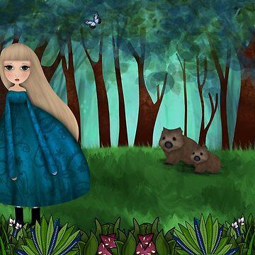 Wombat Glade by Tatham