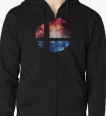 Super Space Bros. || SSB logo Zipped Hoodie