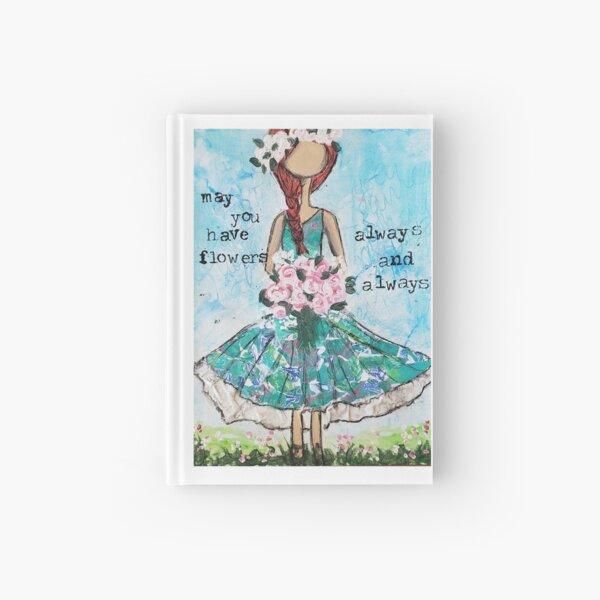Flowers, always Hardcover Journal