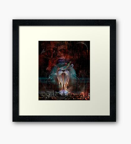 Cruel Hearted Woman Framed Print