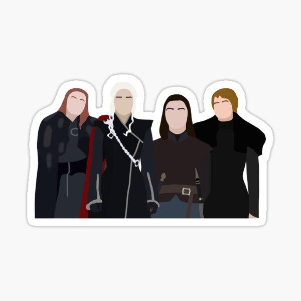 Feminists of Thrones Sticker