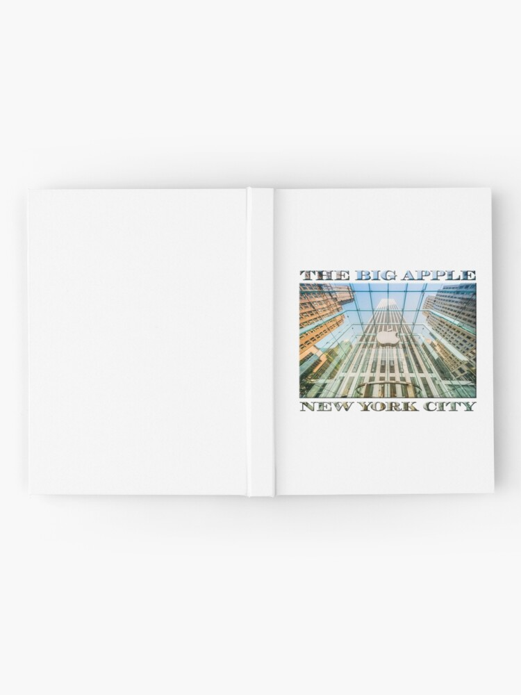 Alternate view of Big Apple in the Big Apple (poster on white) Hardcover Journal