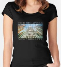 Big Apple in the Big Apple Fitted Scoop T-Shirt