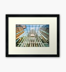 Big Apple in the Big Apple Framed Print