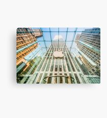 Big Apple in the Big Apple Metal Print