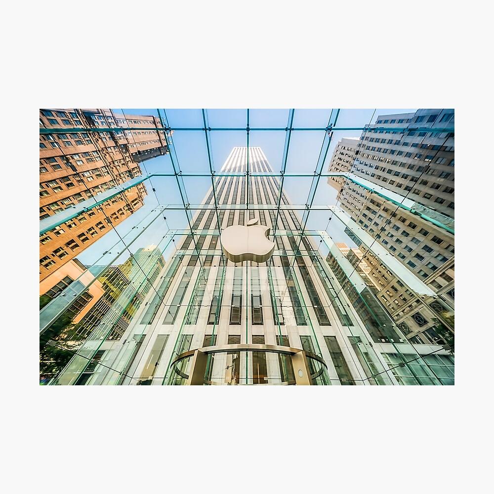Big Apple in the Big Apple Photographic Print
