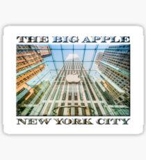 Big Apple in the Big Apple Sticker