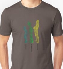 13lisa's :: The Brains, The Wild Card & Muscle Unisex T-Shirt