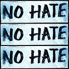 No Hate by ArthurDurkeeArt
