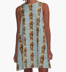 Tiki And Wrenches A-Line Dress