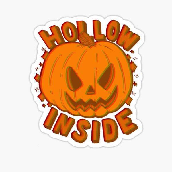 Hollow Inside in 3D Sticker