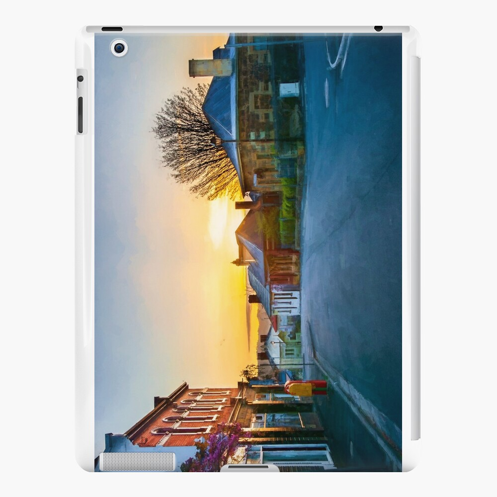 Sunrise at Battery Point iPad Cases & Skins