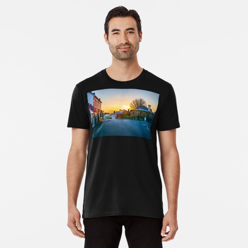 Sunrise at Battery Point Premium T-Shirt