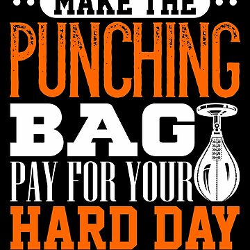 Make The Punching Bag Pay For Your Hard Day Boxing Match Fighting by hangene92