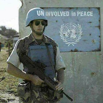 UN-INVOLVED IN PEACE by ApeMurphy