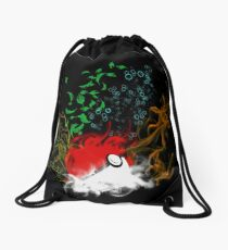 Elemental pokèball Drawstring Bag